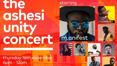 Photo of M.anifest to headline Ashesi Unity Concert