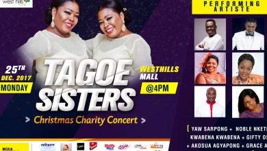 Photo of Tagoe Sisters concert to support School for the Deaf
