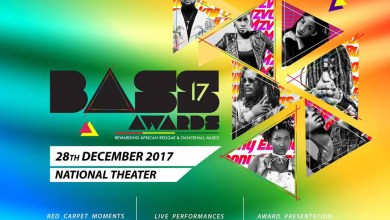 Photo of Stonebwoy, MzVee lead 2017 Bass Awards nominations