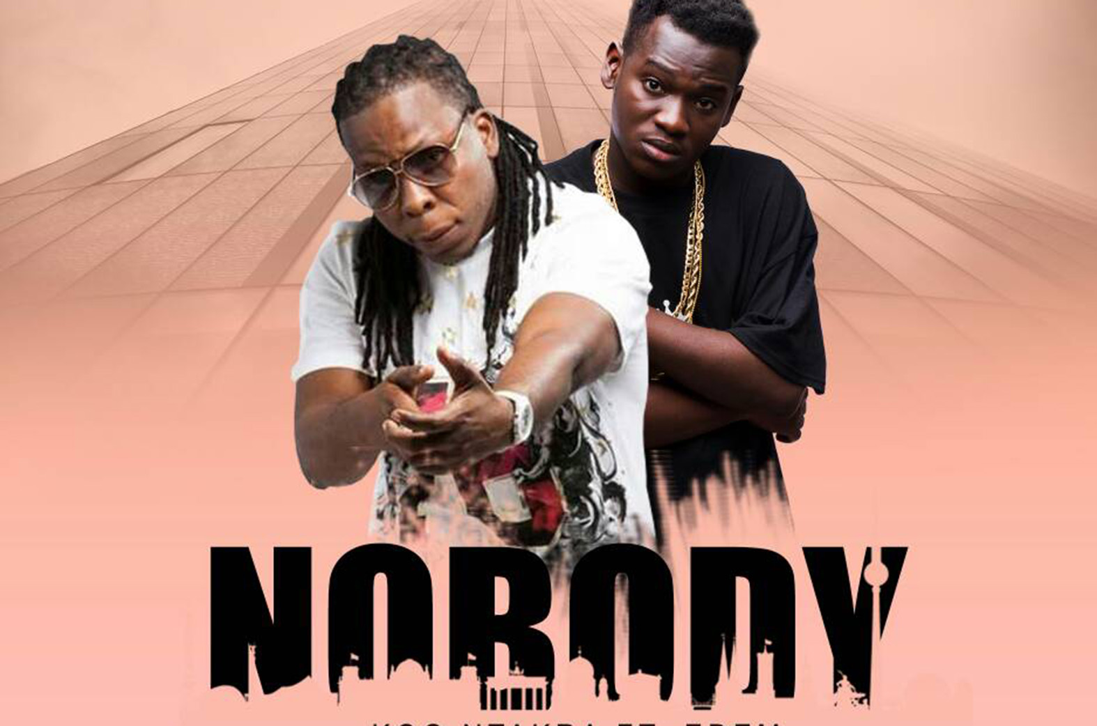 Who was Koo Ntakra & Edem referring to on 'Nobody' song?
