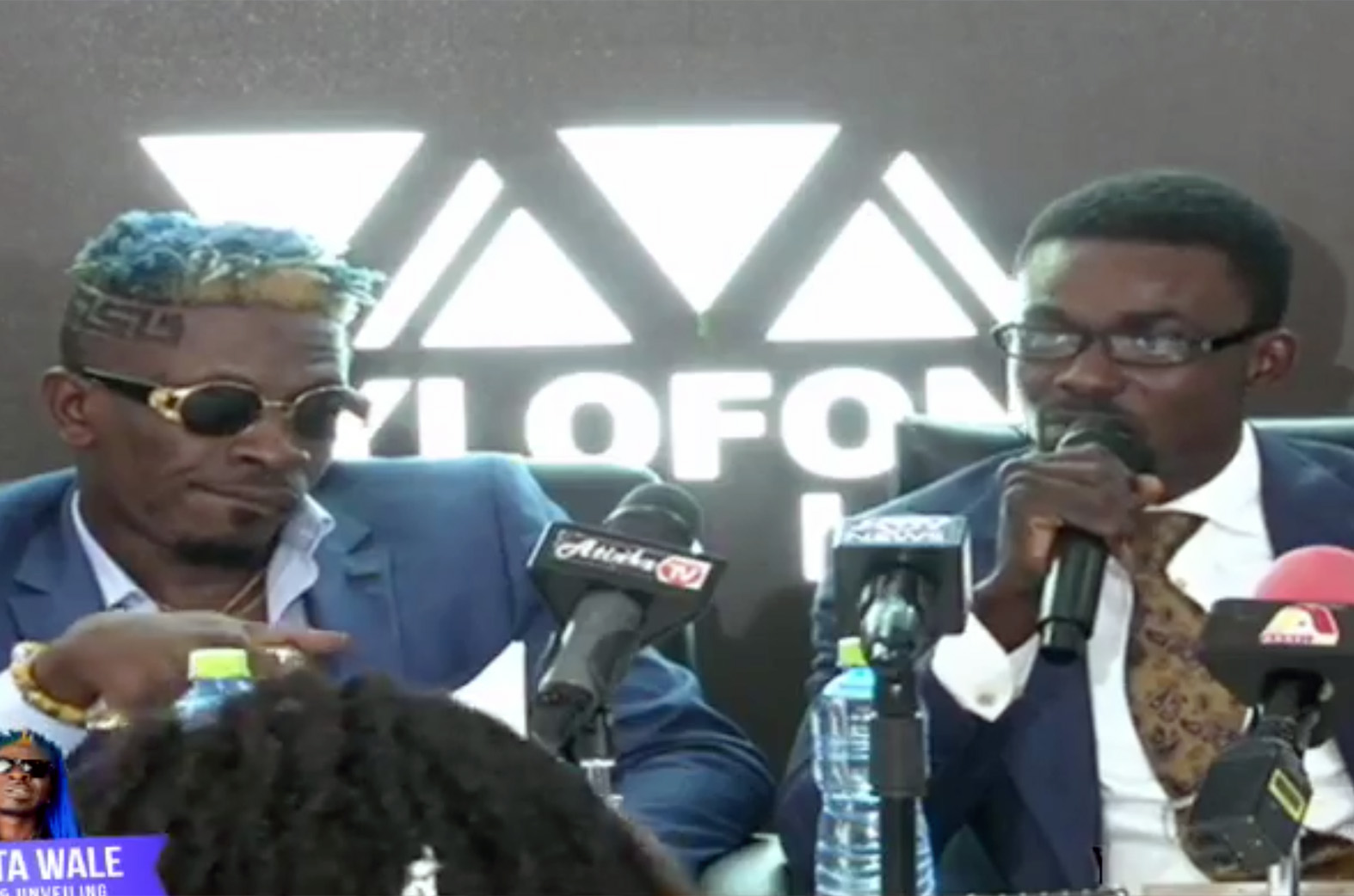 Shatta Wale outdoored as latest Zylofon Music artiste.