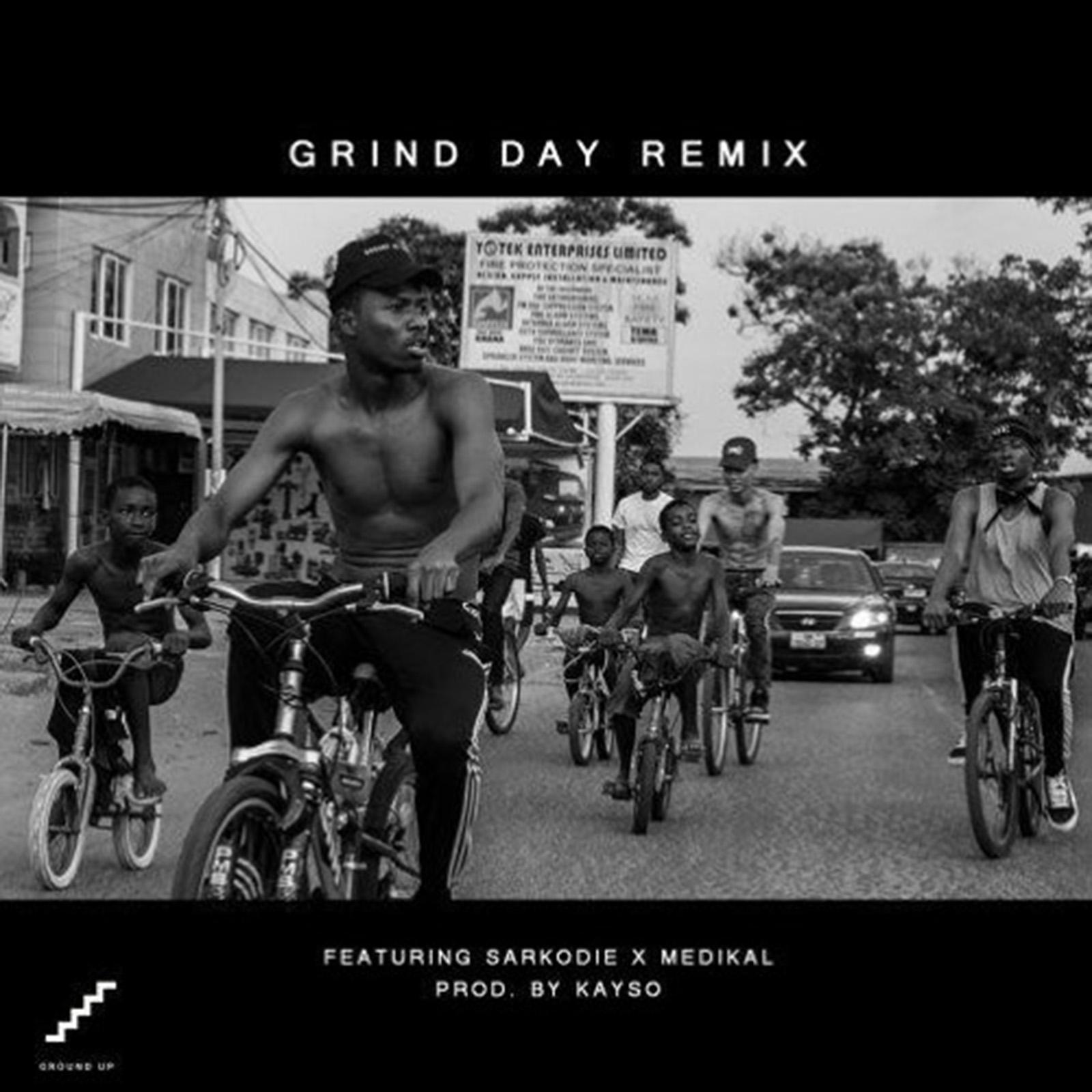 Grind Day remix by Kwesi Arthur feat. Sarkodie & Medikal