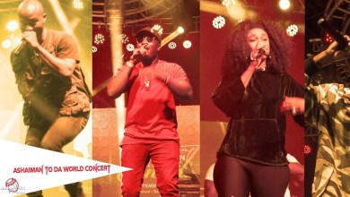 Photo of Video: Becca, Teephlow, Lil Win and others perform at Zylofon Ashaiman to the World Concert