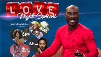Photo of Kwabena Kwabena to host Love Night Concert