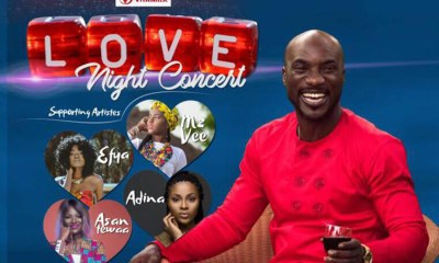 Kwabena Kwabena to host Love Night Concert