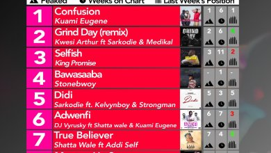 Week #11: Ghana Music Top 10 Countdown