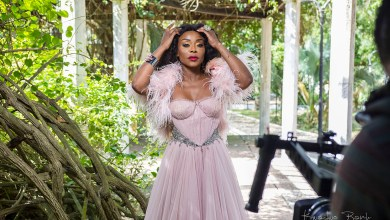 Stephanie Benson shoots video for 'It's All About Love'