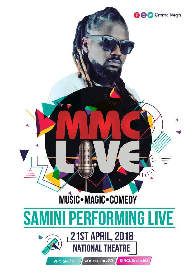 Samini to excite fans at MMC Live 2018 this April