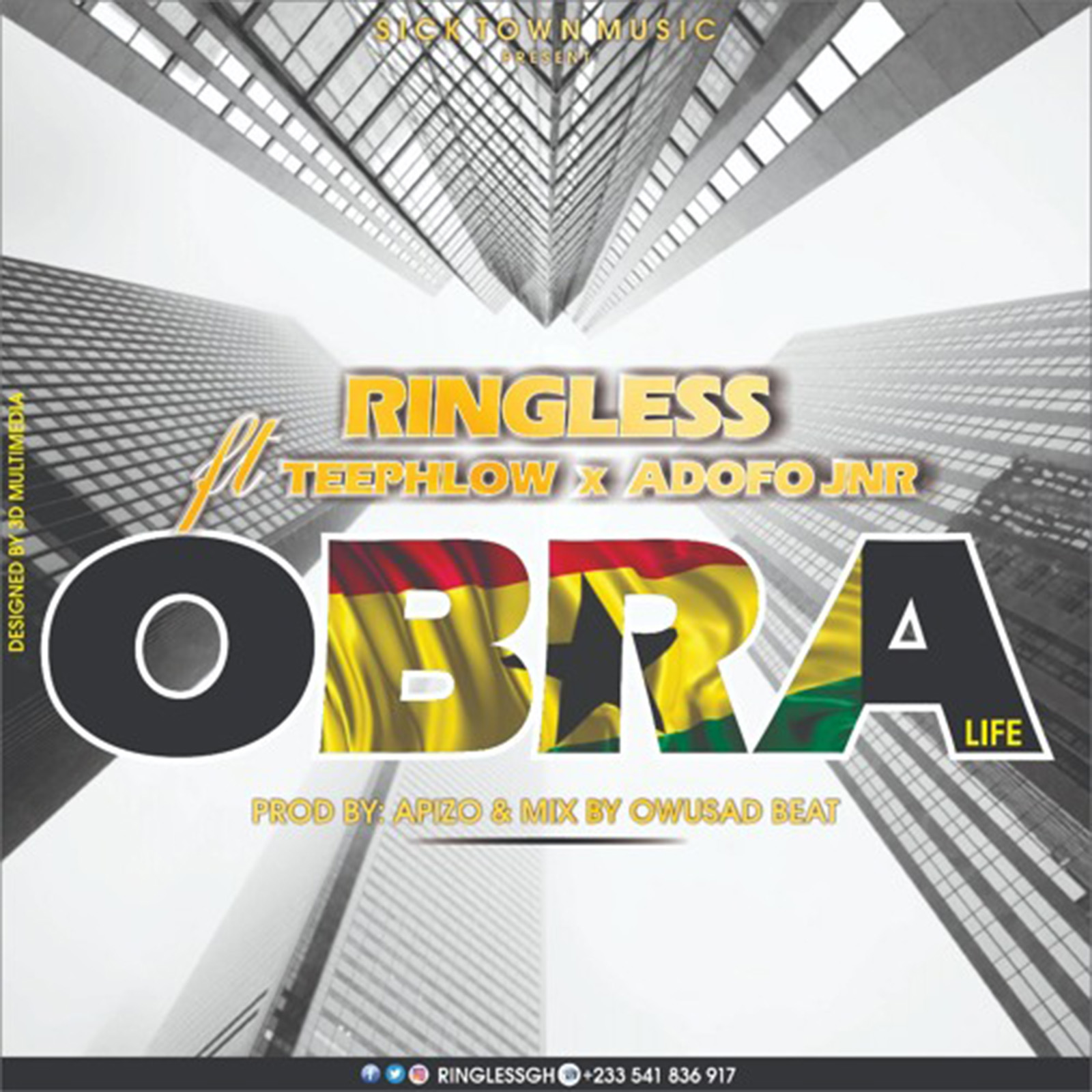 Obra by Ringless feat. Teephlow & Adofo Jnr