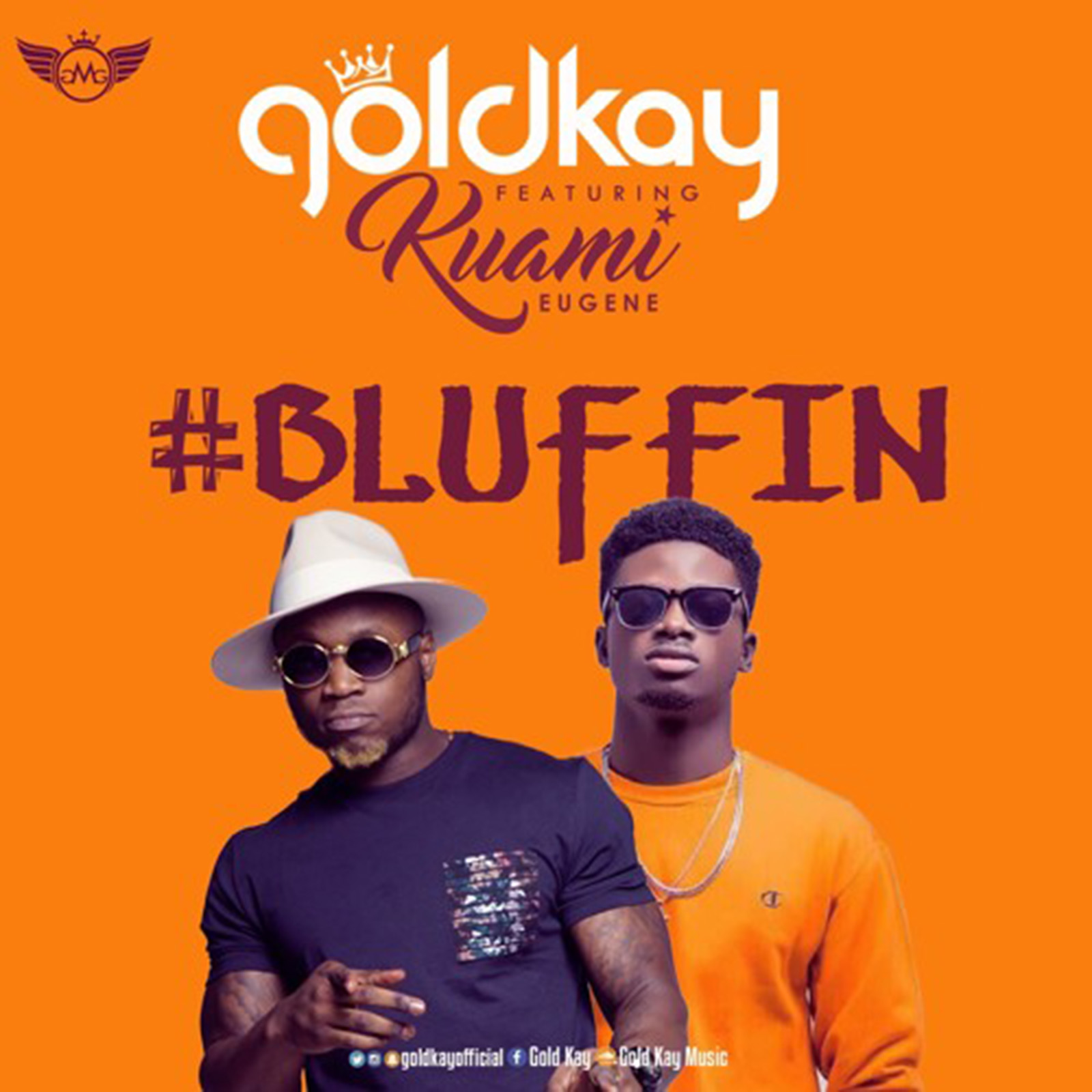 Bluffin by GoldKay feat. Kuami Eugene