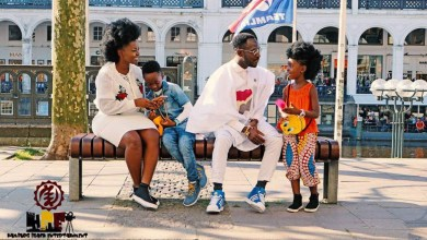 Photo of Okyeame Kwame's kids shine the light on Pan-Africanism