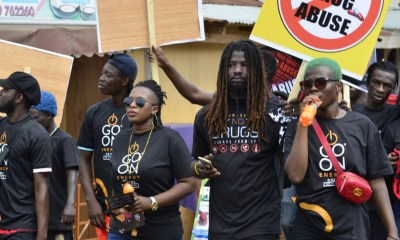 Go On launches Drug Abuse Campaign with Rudebwoy Ranking & Ohemaa Dadao