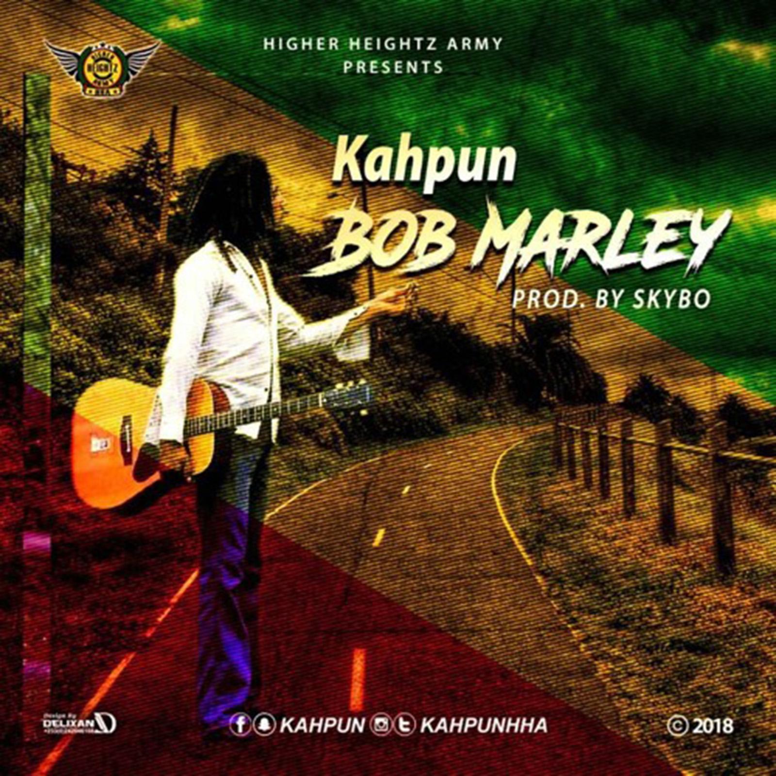 Bob Marley by Kahpun