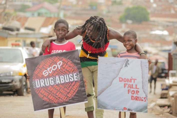 "Abban recruits top artistes for ""Say No To Drugs"" campaign"