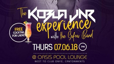 The Kobla Jnr Experience live band show