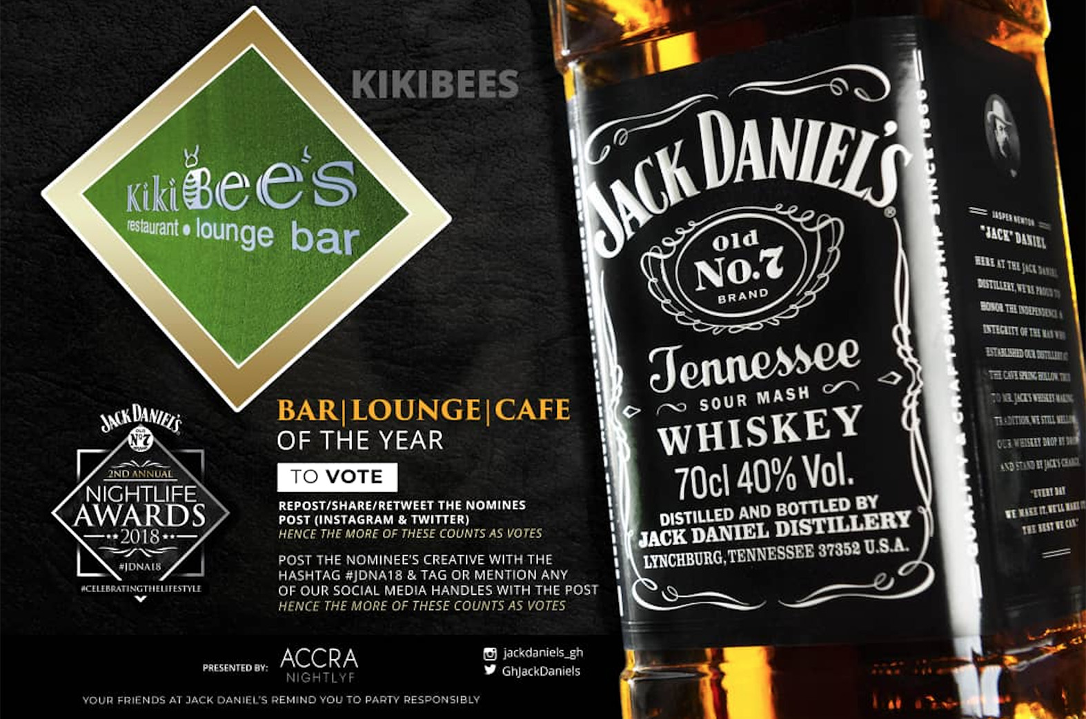 Kikibees Karaoke gets Jack Daniel's Night Life Awards nominations