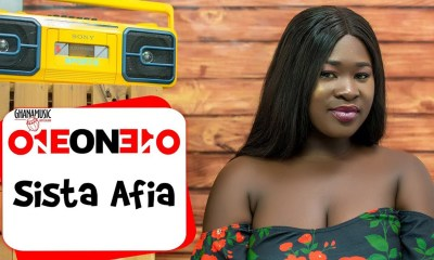 1 on 1: My first song was a gospel song - Sista Afia
