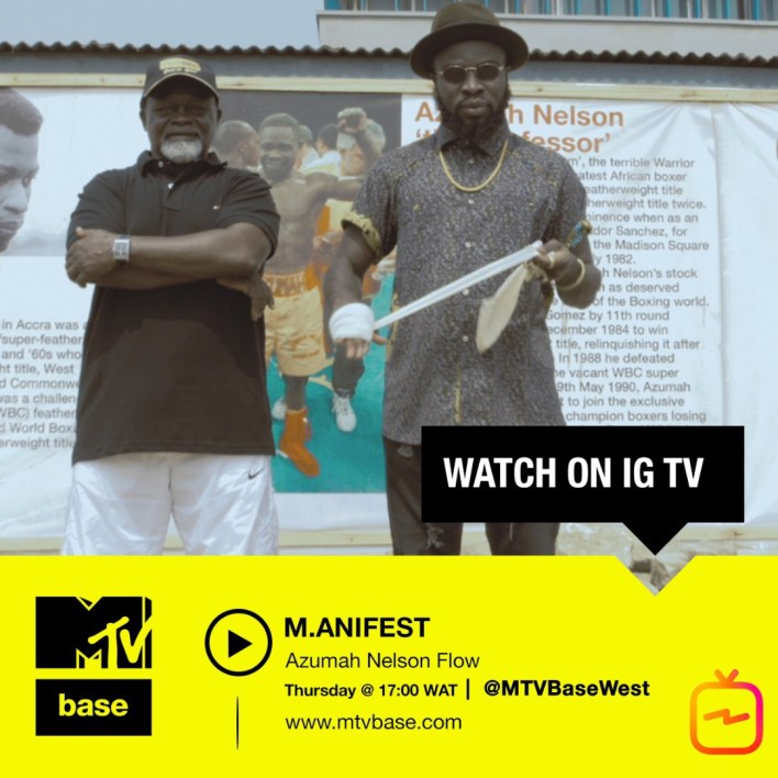 M.anifest to premiere new video on MTV Base's IG TV