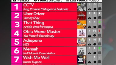 Week #26: Ghana Music Top 10 Countdown