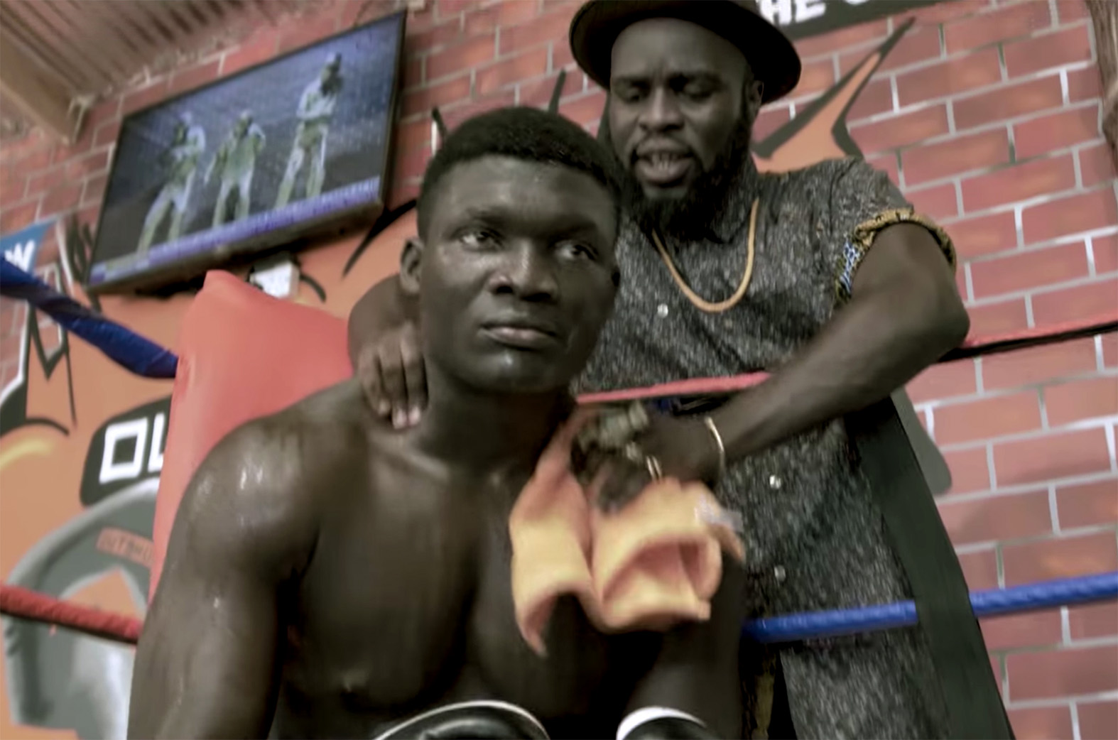 Video: Azumah Nelson Flow by M.anifest