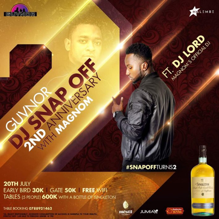 Uganda is ready for Magnom & DJ Lord on the 20th of July