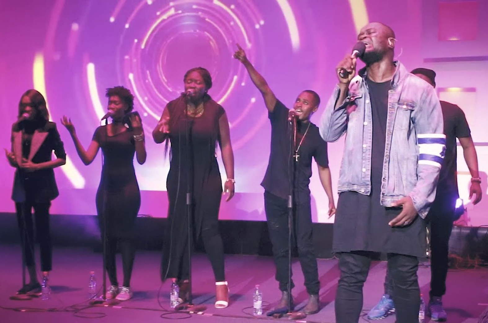 Cwesi Oteng gets featured on TBN In Africa