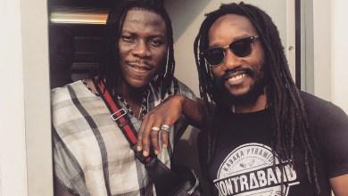 Kabaka Pyramid celebrates Stonebwoy at Reggae Geel 2018