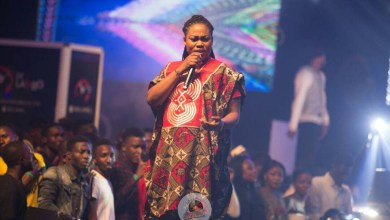 Photo of Joyce Blessing's impresses  at ZylofonMedia/Menzgold launch in Nigeria