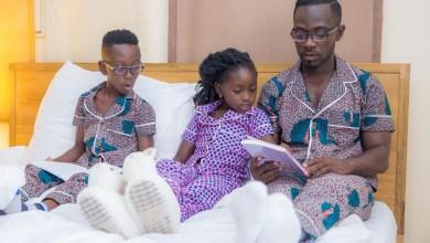 OK Impressions: Okyeame Kwame, family introduce pyjamas