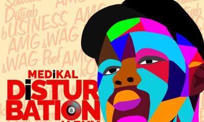 Album Review: 22 songs 1 review; Medikal's Disturbation album