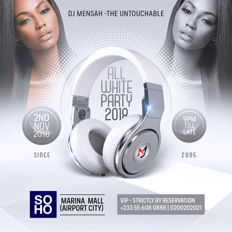 The date for DJ Mensah's All White Party is in!