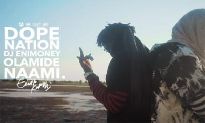 Video Premiere: Naami by DopeNation, Olamide & DJ Enimoney