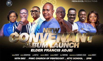 Elder Francis Agyei to launch latest album with a mega concert this Sunday