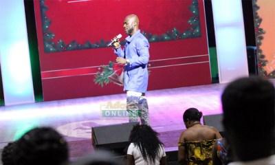 Kwabena Kwabena sparks love at Adom Nine Lessons and Carols