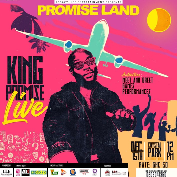 King Promise takes you to the promise land this Saturday
