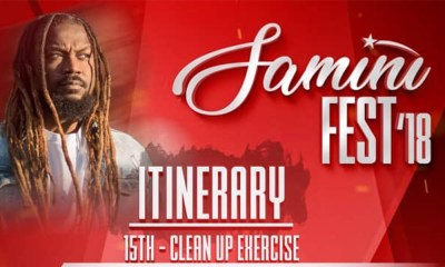 Samini to outdoor week-long Saminifest 2018