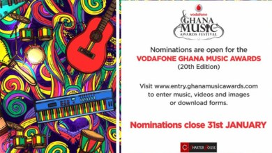 Photo of Nominations open for 2019 Vodafone Ghana Music Awards