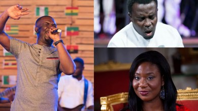 Photo of Joe Mettle, OJ, Ella Duncan-Williams King and others thrill dignitaries at Fundraising Dinner