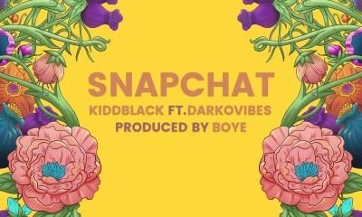 KiddBlack features Darkovibes in new single, 'Snapchat'
