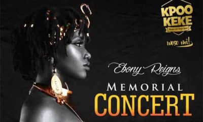 All set for Ebony Reigns Memorial Concert on March 29