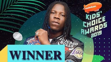 Photo of Stonebwoy wins DSTV Nickelodeon's Favourite African Star award in SA