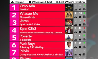 Week #13: Ghana Music Top 10 Countdown