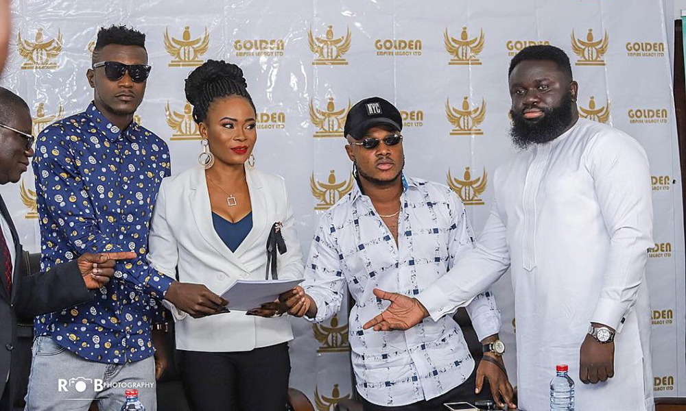 Keche bags a $500,000 record deal with Gold Empire Legacy Ltd