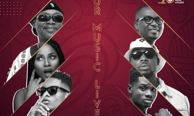 Adina, Teephlow, Amandzeba, others feature on new VGMA theme song