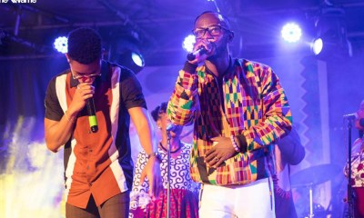 Okyeame Kwame invokes patriotism at 'Made In Ghana' album launch