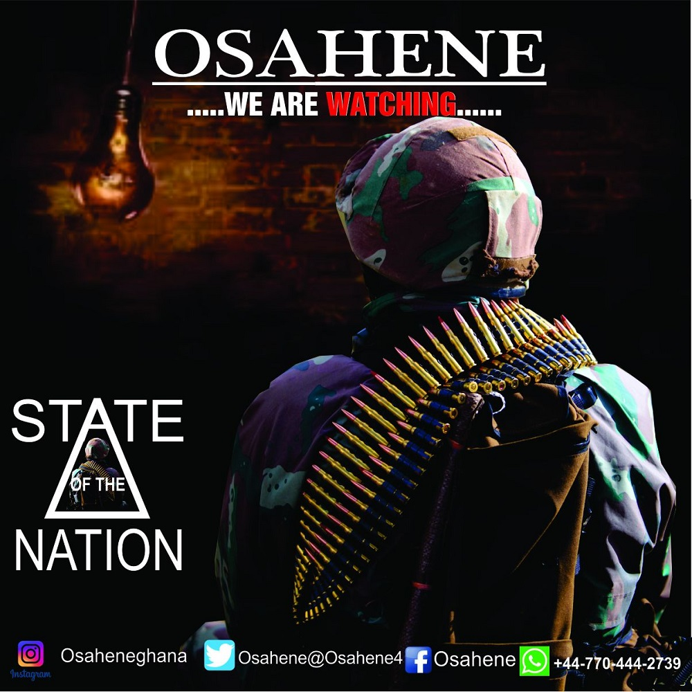 We Are Watching (State Of The Nation Address) by Osahene