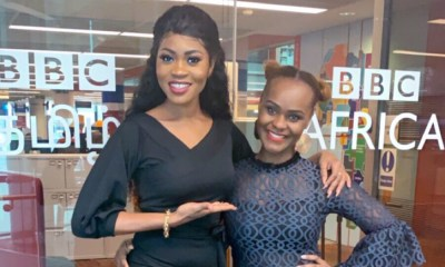 Eazzy gets interviewed by the BBC on her new Solo EP
