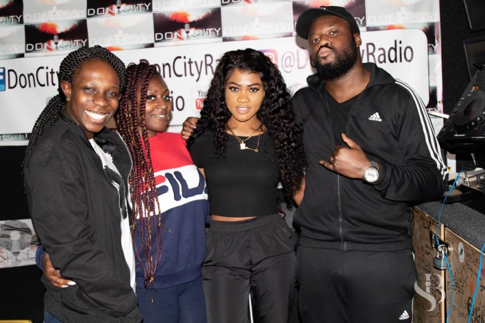 Photos: Eazzy storms UK for 'Solo' EP media tour