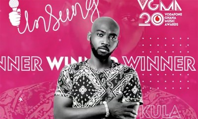 Kula wins 2019 VGMA Unsung category