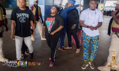 Teni, Wande Coal, others arrive for Ghana Meets Naija